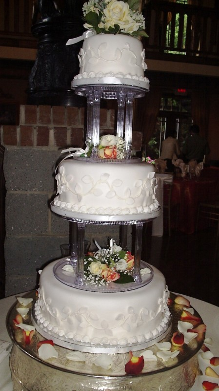 Wedding Cake Pillars Clear 5000 Simple Cakes & Wedding Cake Pillars Clear - 5000+ Simple Wedding Cakes